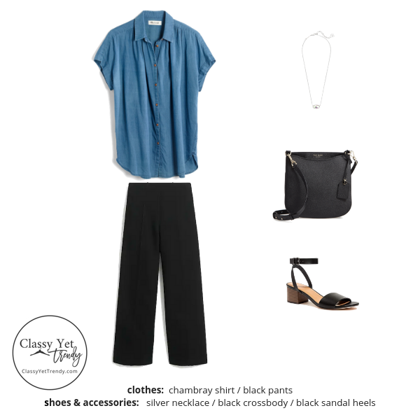 French Minimalist Capsule Wardrobe Summer 2019 - outfit 39