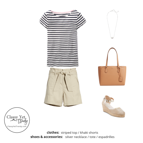 French Minimalist Capsule Wardrobe Summer 2019 - outfit 66