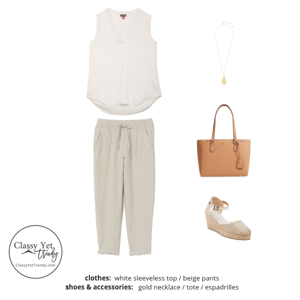 French Minimalist Capsule Wardrobe Summer 2019 - outfit 75