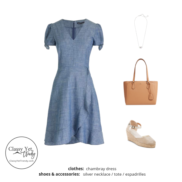 French Minimalist Capsule Wardrobe Summer 2019 - outfit 86