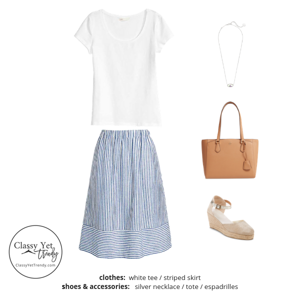 French Minimalist Capsule Wardrobe Summer 2019 - outfit 99