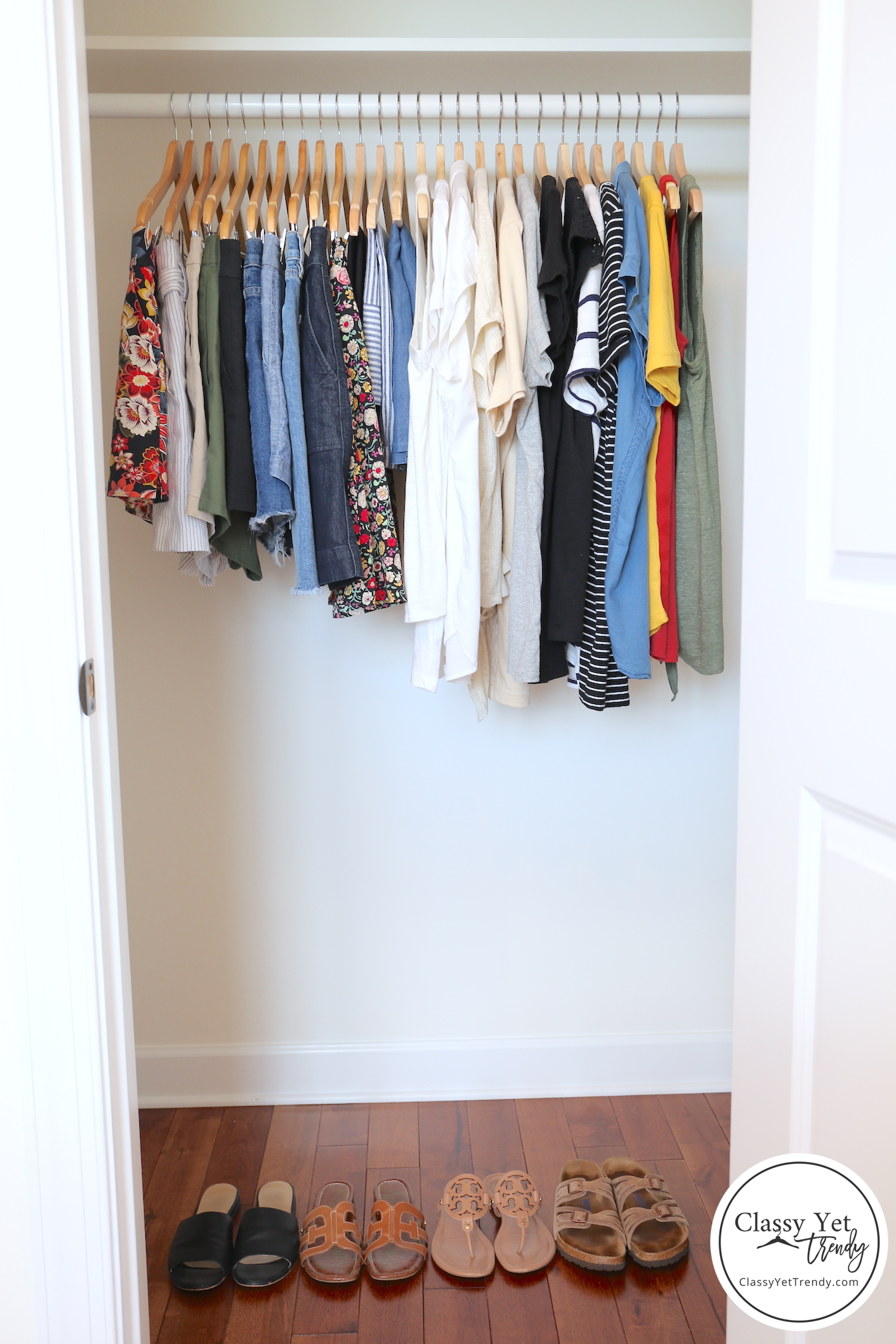 My 31 Piece Summer 2019 Capsule Wardrobe Classy Yet Trendy