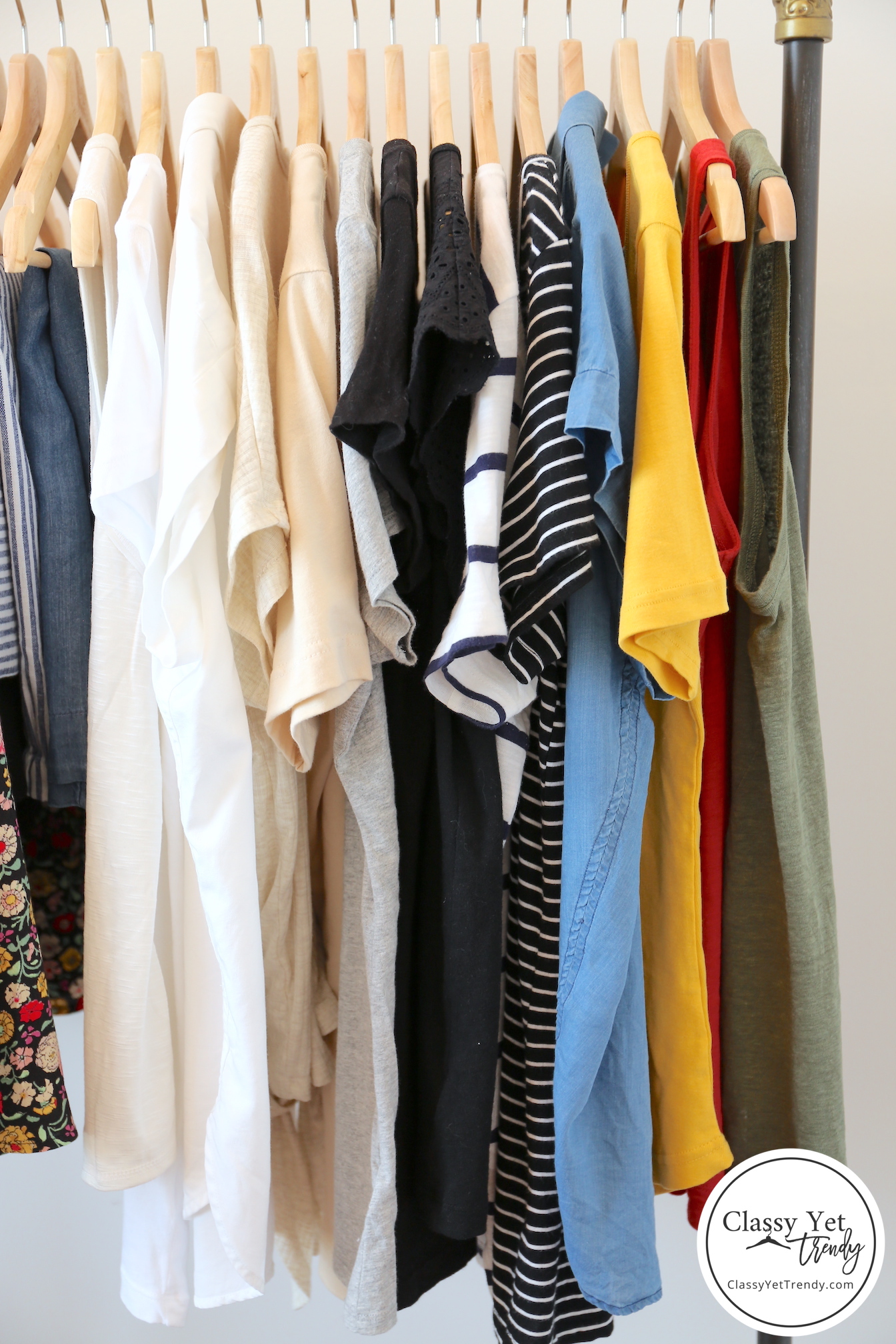 My 31-piece Summer 2019 Capsule Wardrobe - Tops