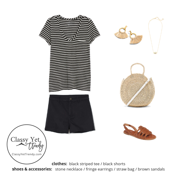 Stay At Home Mom Capsule Wardrobe Summer 2019 - outfit 1