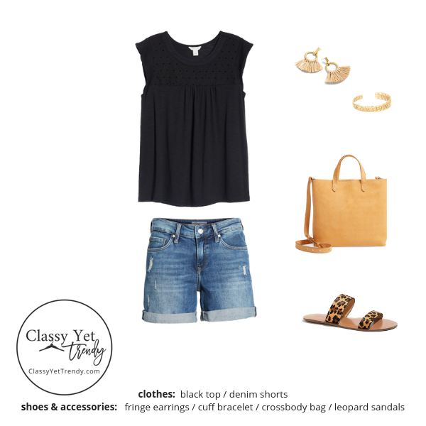 Stay At Home Mom Capsule Wardrobe Summer 2019 - outfit 12