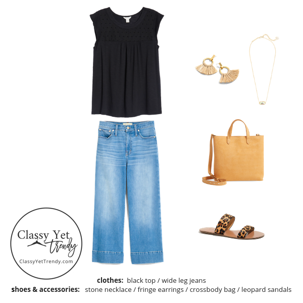 Stay At Home Mom Capsule Wardrobe Summer 2019 - outfit 21