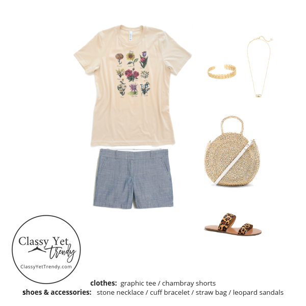 Stay At Home Mom Capsule Wardrobe Summer 2019 - outfit 39