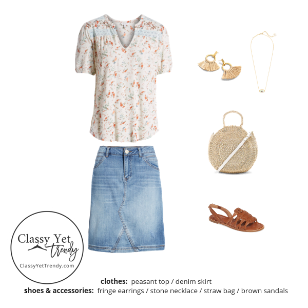 Stay At Home Mom Capsule Wardrobe Summer 2019 - outfit 79
