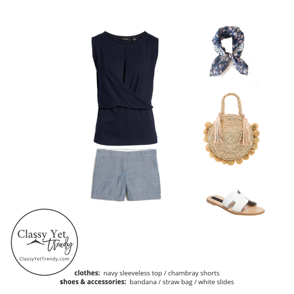 The Essential Capsule Wardrobe Summer 2019 outfit 19