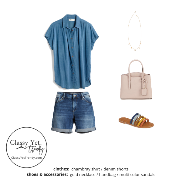 The Essential Capsule Wardrobe Summer 2019 outfit 27