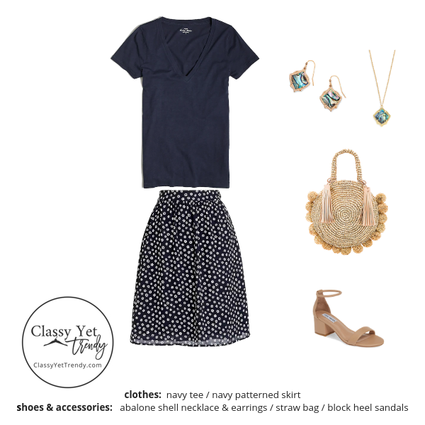 The Essential Capsule Wardrobe Summer 2019 outfit 68