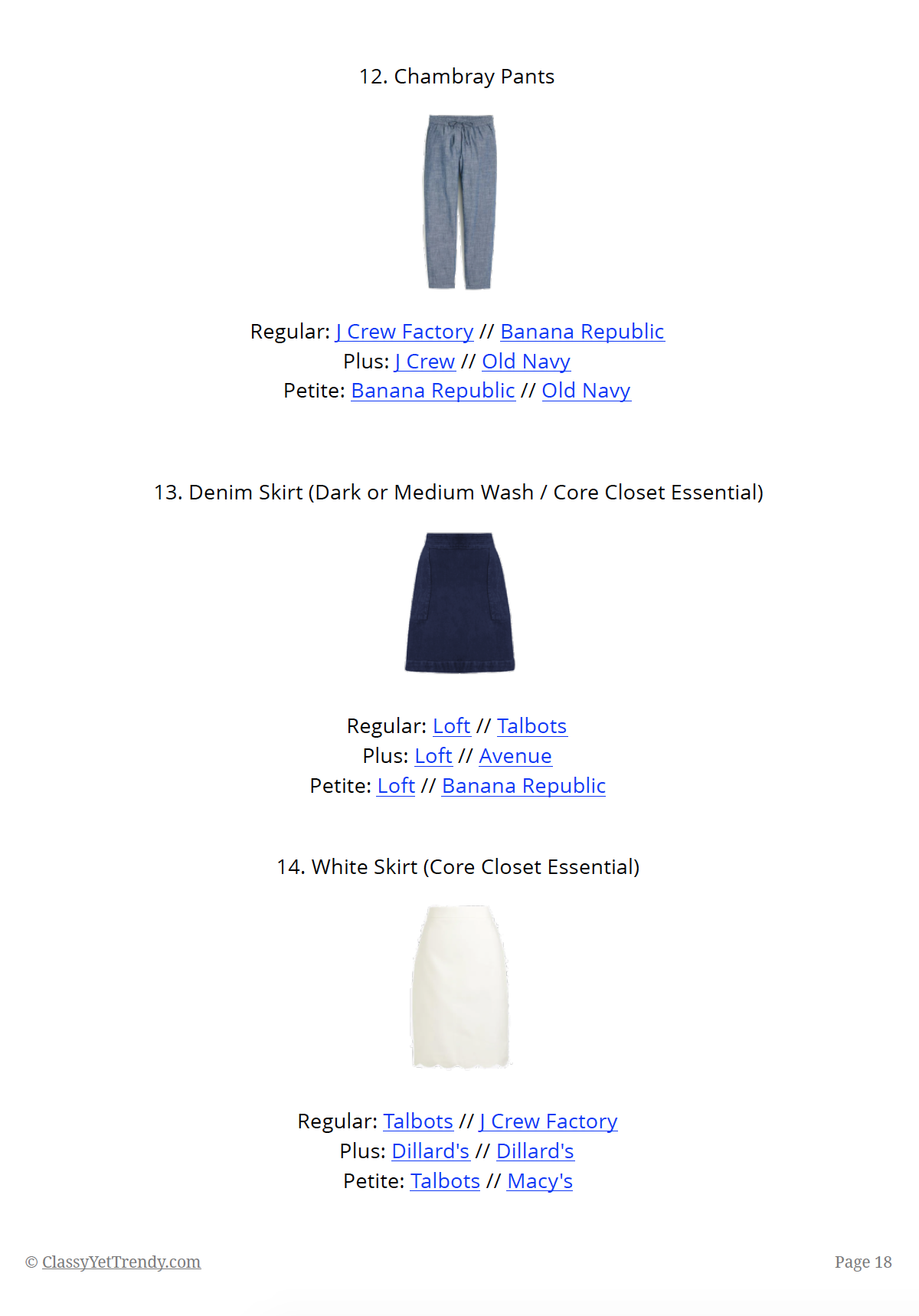 The Essential Capsule Wardrobe - Summer 2019 - page 18