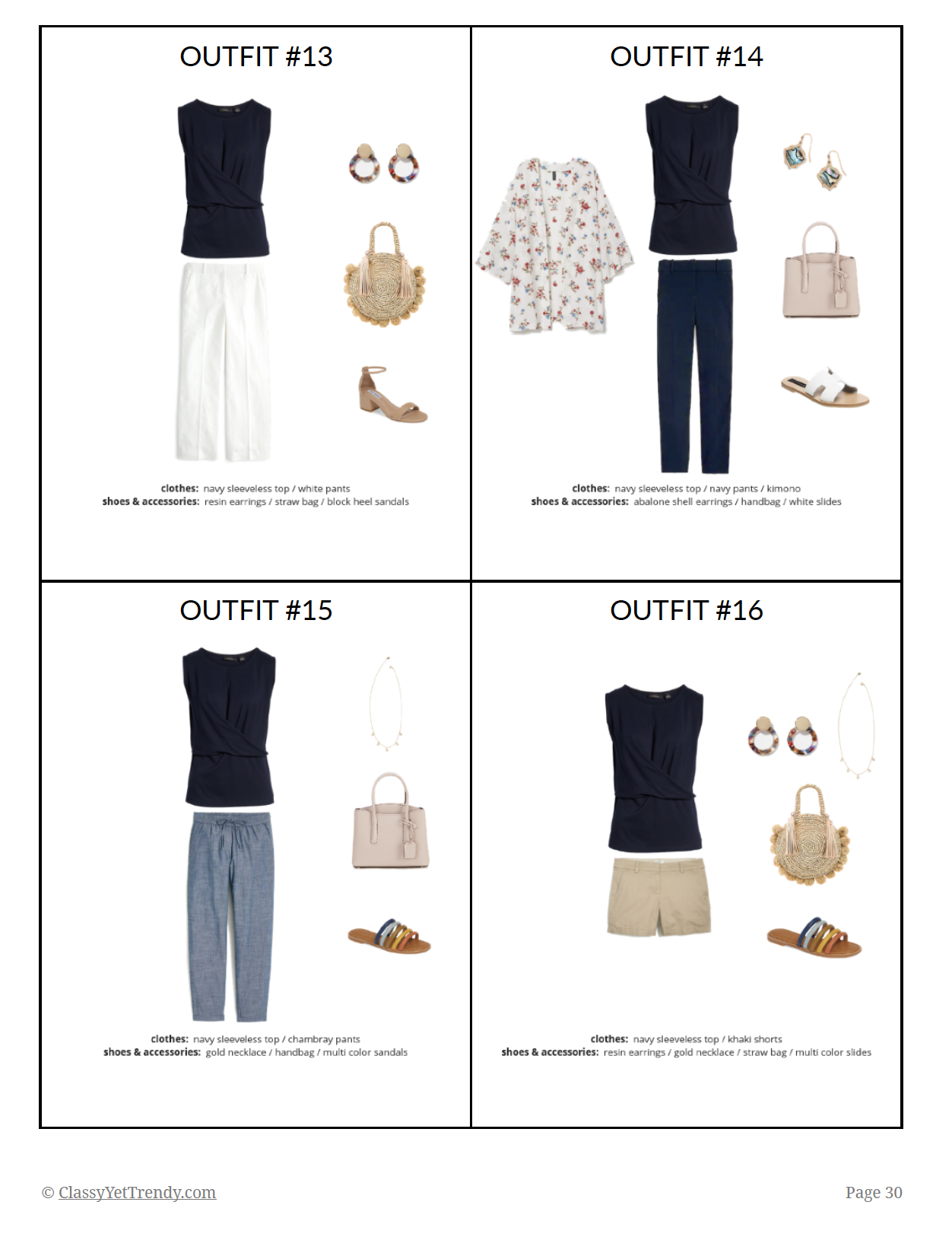 The Essential Capsule Wardrobe - Summer 2019 - page 30