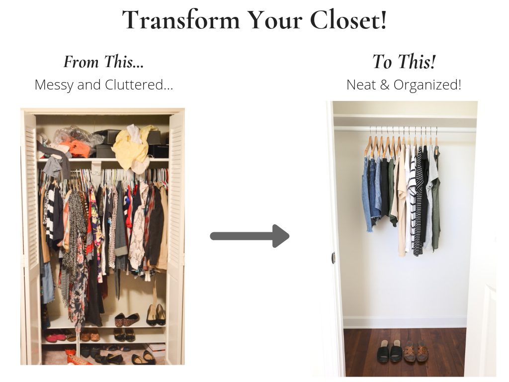 Transform Your Closet - Stay At Home Mom Summer 2019