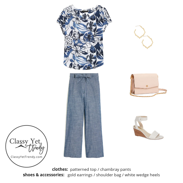 Workwear Capsule Wardrobe Summer 2019 - outfit 26