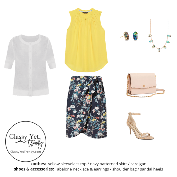 Workwear Capsule Wardrobe Summer 2019 - outfit 46