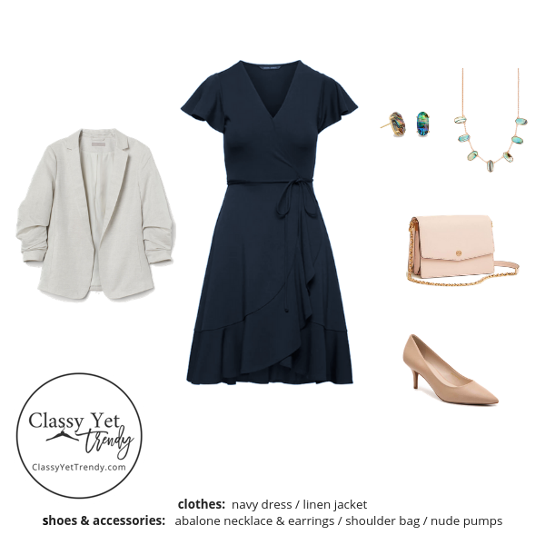 Workwear Capsule Wardrobe Summer 2019 - outfit 80
