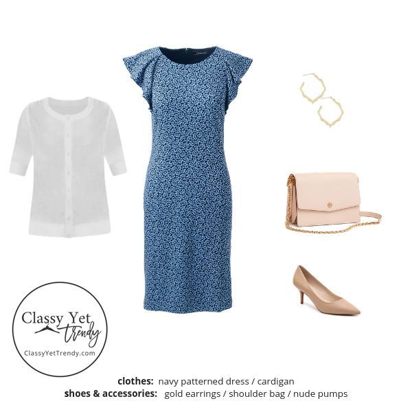 Workwear Capsule Wardrobe Summer 2019 - outfit 82