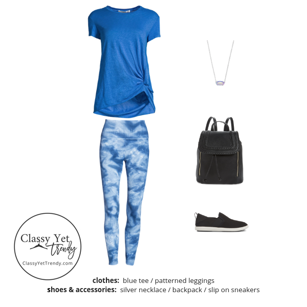 Athleisure Capsule Wardrobe Summer 2019 - outfit 39