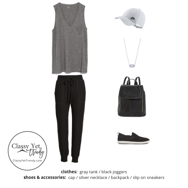 Athleisure Capsule Wardrobe Summer 2019 - outfit 53