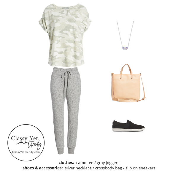 Athleisure Capsule Wardrobe Summer 2019 - outfit 58