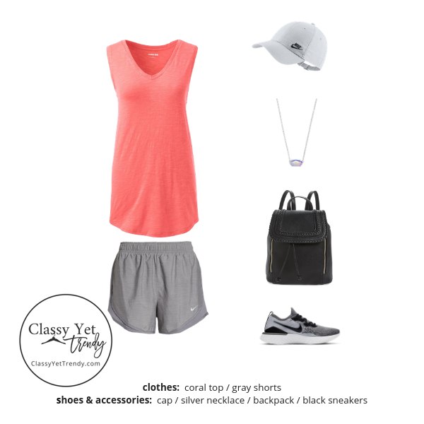 Athleisure Capsule Wardrobe Summer 2019 - outfit 67