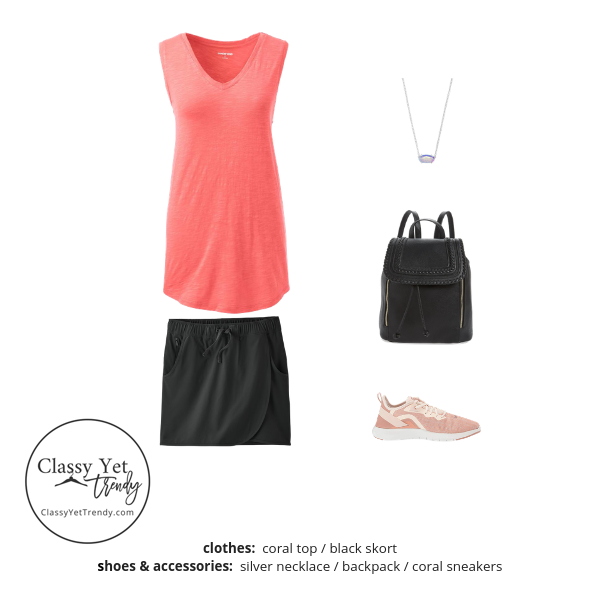 Athleisure Capsule Wardrobe Summer 2019 - outfit 73