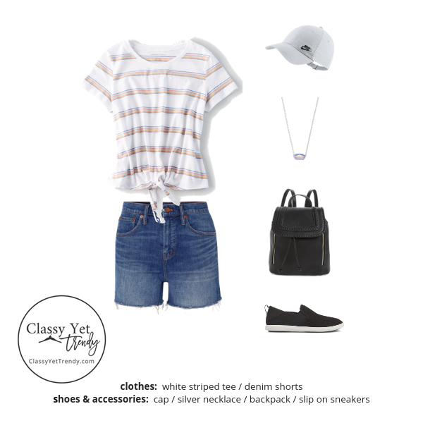 Athleisure Capsule Wardrobe Summer 2019 - outfit 76