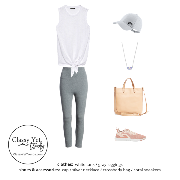 Athleisure Capsule Wardrobe Summer 2019 - outfit 89