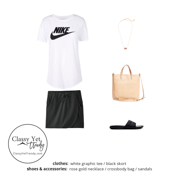 Athleisure Capsule Wardrobe Summer 2019 - outfit 99