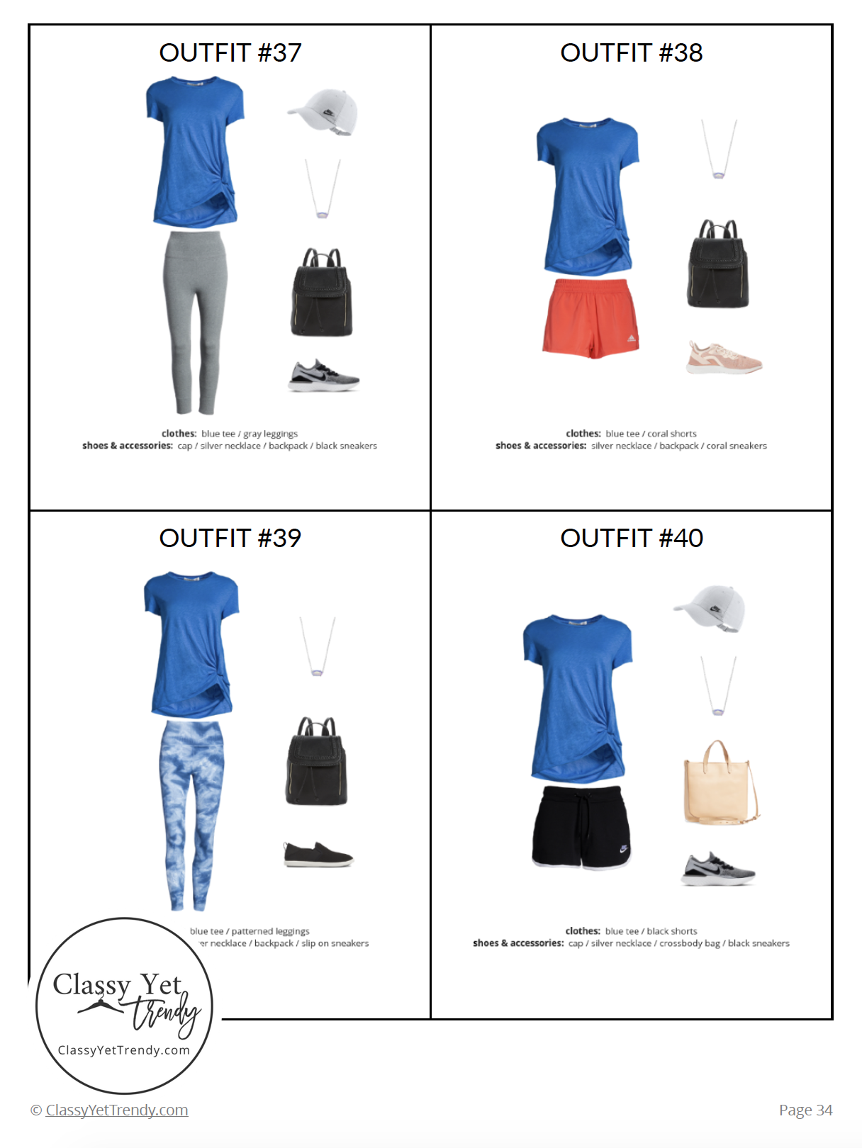 Athleisure Capsule Wardrobe Summer 2019 - page 34