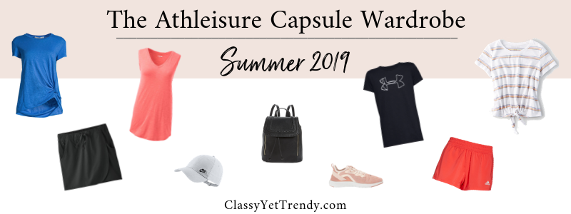 BANNER 800X300 - The Athleisure Capsule Wardrobe - Summer 2019