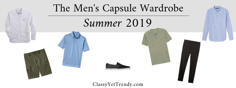 BANNER 800X300 - The Mens Capsule Wardrobe - Summer 2019