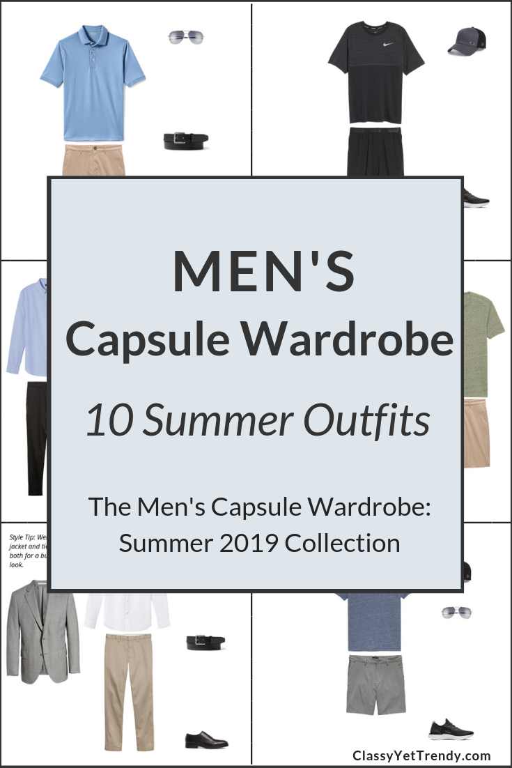 Mens Capsule Wardrobe Summer 2019 Preview - 10 Outfits