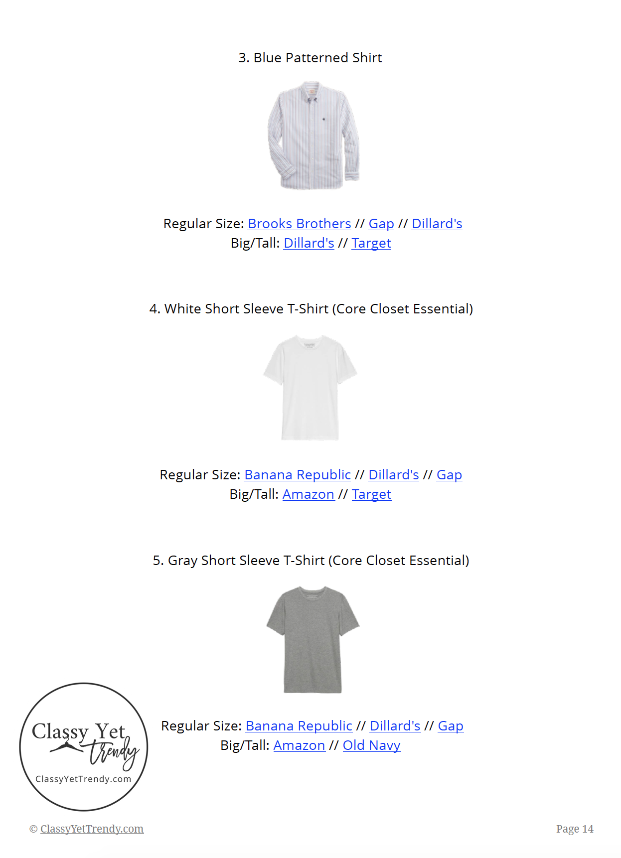 Mens Capsule Wardrobe Summer 2019 page 14