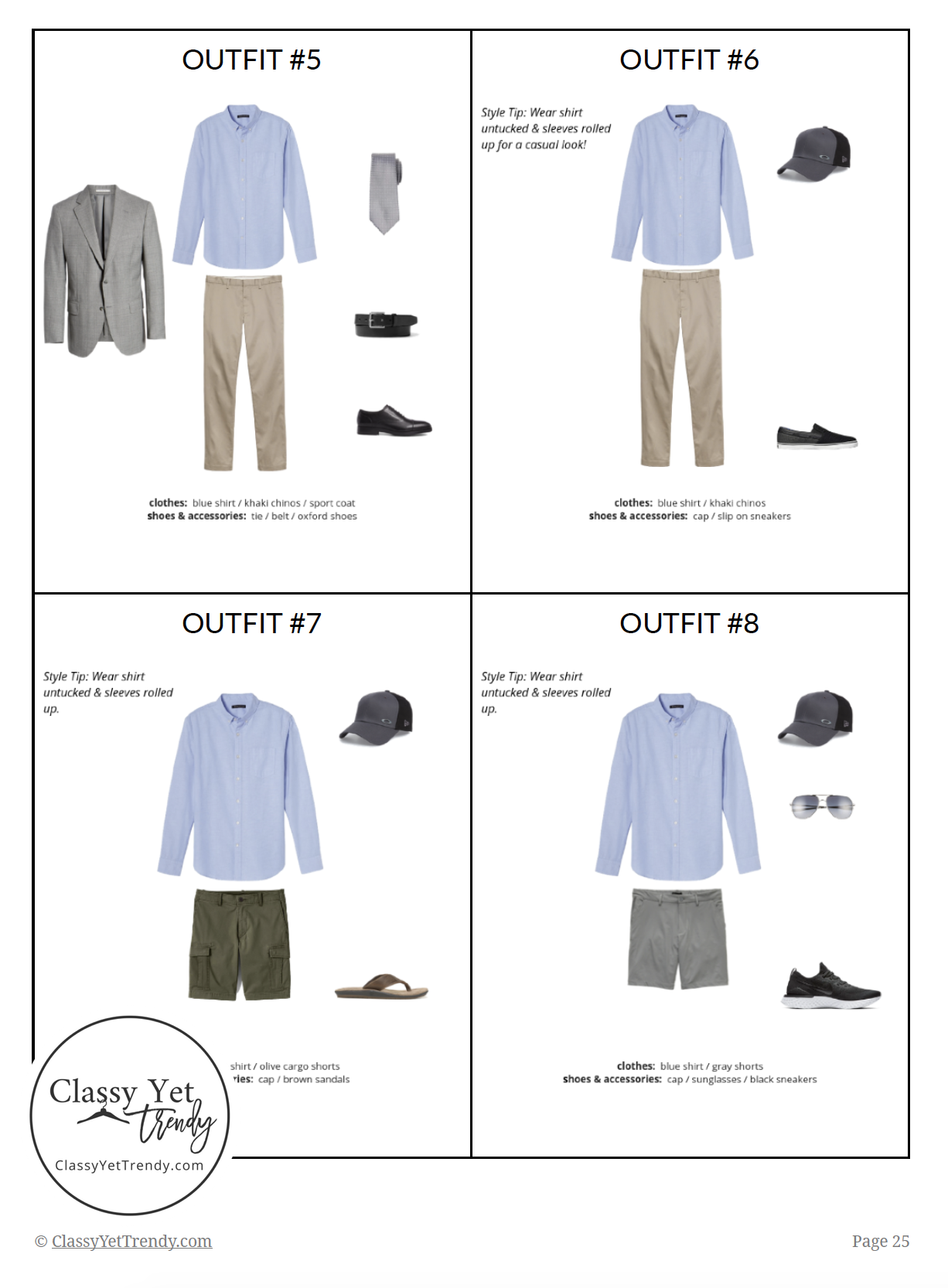 Mens Capsule Wardrobe Summer 2019 page 25