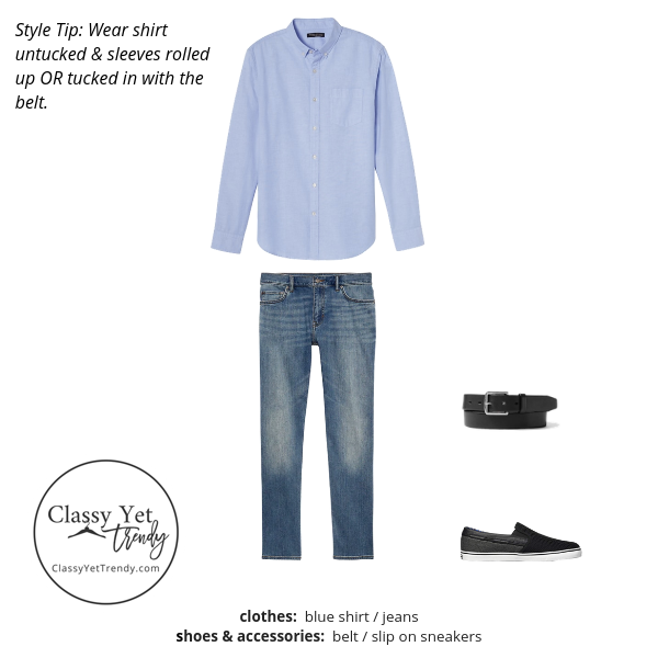 Mens Summer 2019 Capsule Wardrobe outfit 3