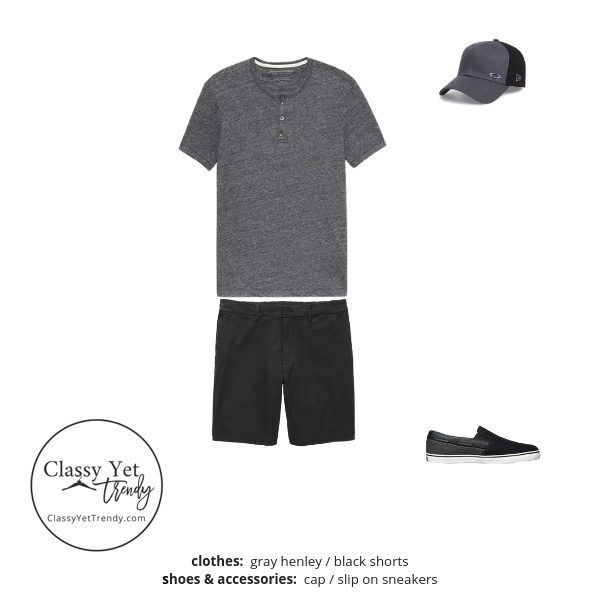 Mens Summer 2019 Capsule Wardrobe outfit 65