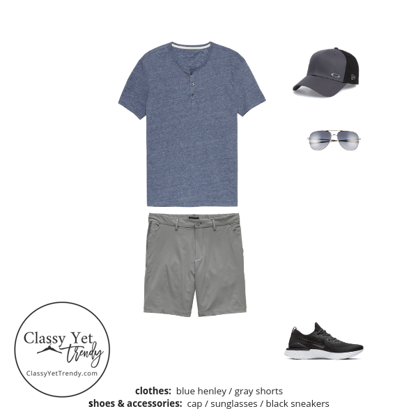 Mens Summer 2019 Capsule Wardrobe outfit 97