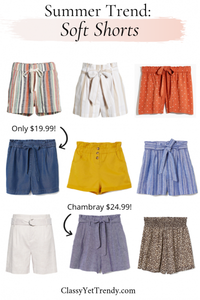 Summer Trend_ Soft Shorts
