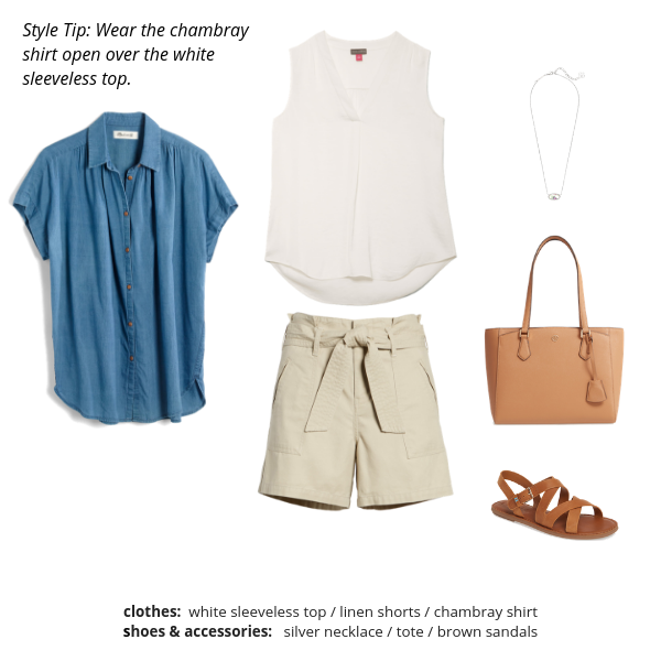 The French Minimalist Capsule Wardrobe Summer 2019 - BONUS OUTFIT 1