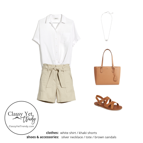 The French Minimalist Capsule Wardrobe - Summer 2019 outfit 4