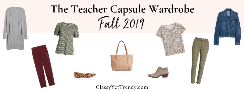 BANNER 800X300 - The Teacher Capsule Wardrobe - Fall 2019
