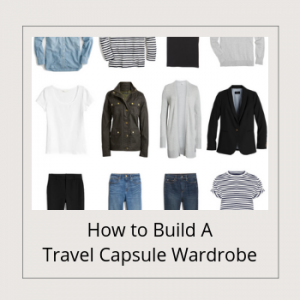 BANNER - How to Build A Travel Capsule Wardrobe