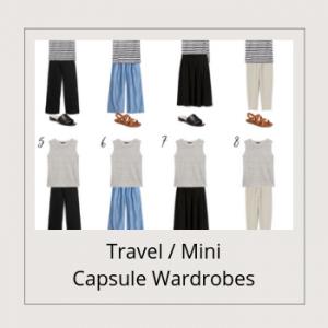 BANNER - Travel Mini Capsule Wardrobes