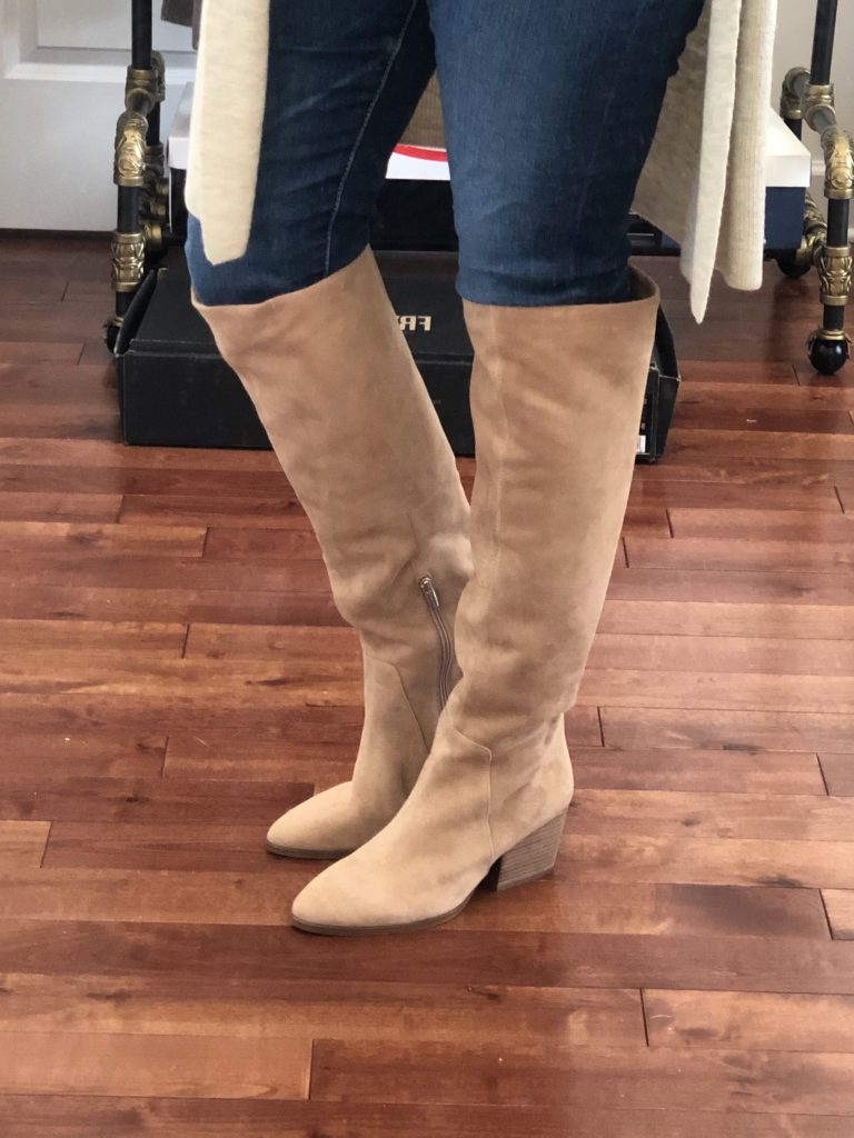 Nordstrom Anniversary Sale 2019 Try-On - knee high boots