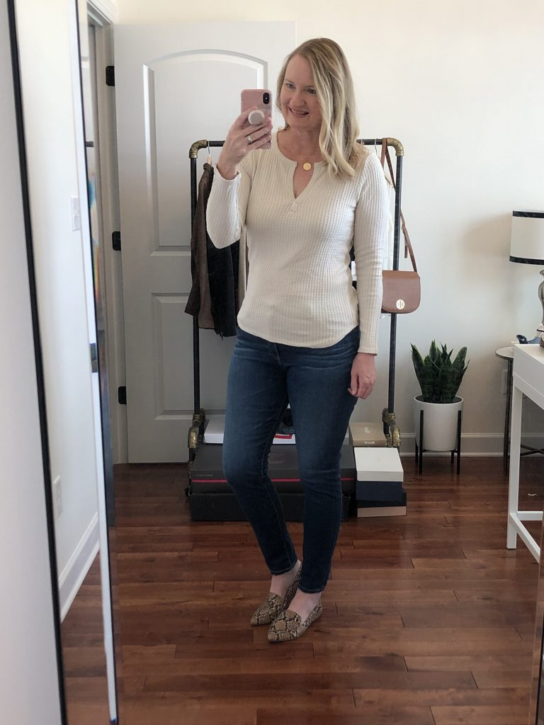 Nordstrom Anniversary Sale 2019 Try-On - outfit 1
