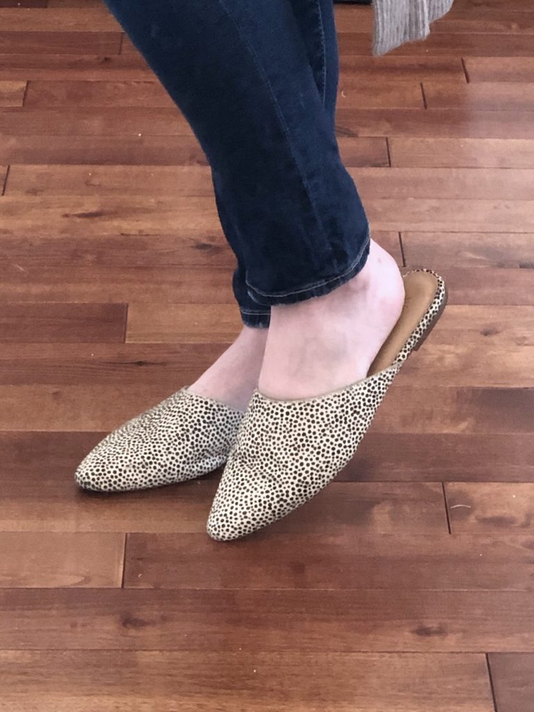 Nordstrom Anniversary Sale 2019 Try-On - spotted leopard mules