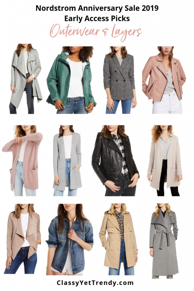 OUTERWEAR AND LAYERS - Nordstrom Anniversary Sale 2019 Early Access