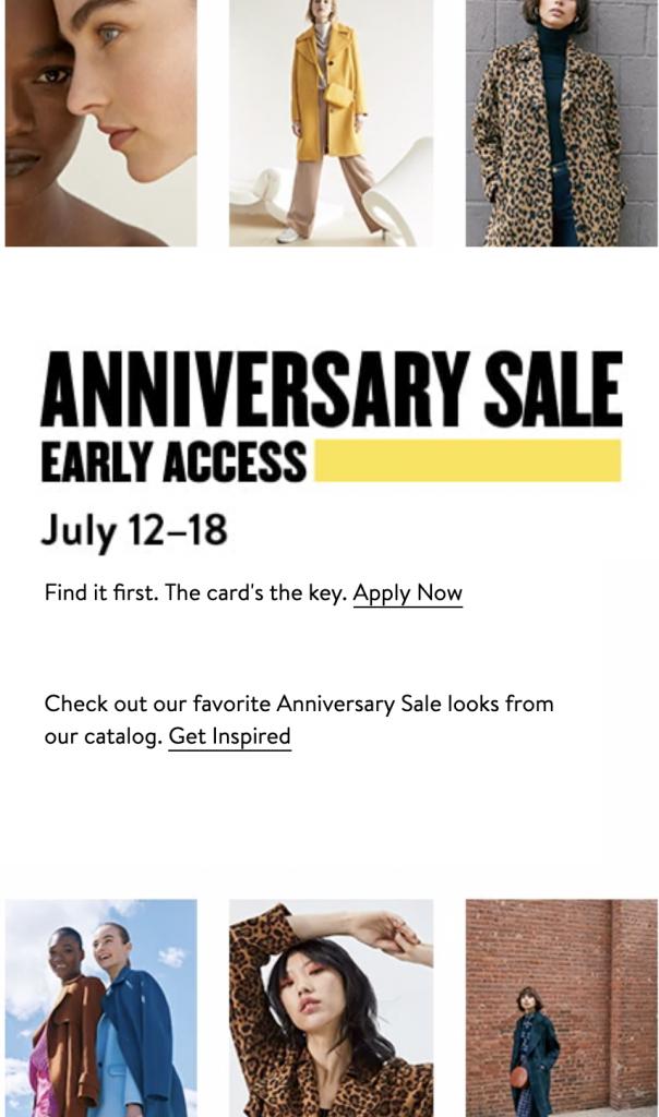 Nordstrom Anniversary Sale 2019 main image